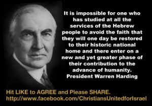 Quote of the Day- President Warren Harding