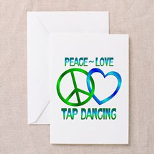 Tap Dancing Greeting Cards