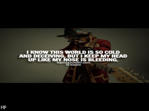 Lil Wayne Sayings Quotes Existence Be fond of Facebook Covers See in ...