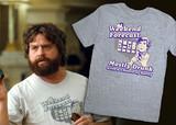 Alan's Weekend Forecast t-shirt