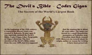 Codex Gigas -The Devils Bible
