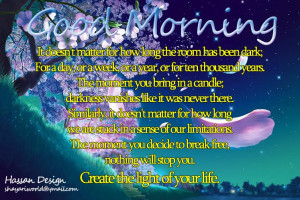Good Morning Quotes for 18-05-2010