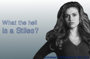Teen Wolf Quotes Tumblr