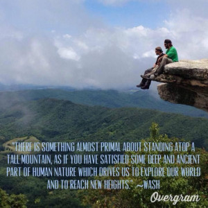 hiking mountains, reaching new heights, quotes, Appalachian Trail