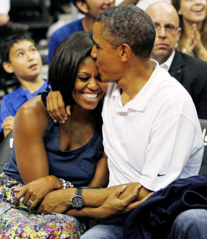 Michelle Obama, President Obama