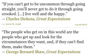 Great expectations quotes