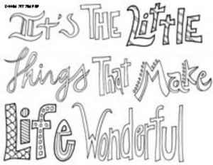 sayings colouring pages