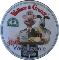 Wallace and Gromit Cheese Wheel 2