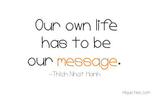 Our Message - MLQuotes
