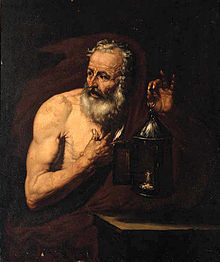 Even bronze is aged by time , but not all the ages, Diogenes, shall ...