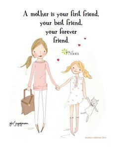 Mother Is A Daughter's Best Friend Quotes (15)