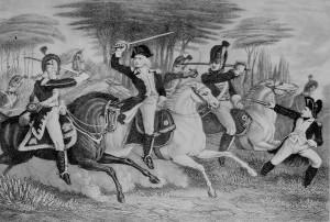 Description William Washington at Battle of Cowpens.jpg