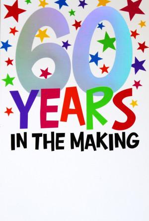 "Happy 60th Birthday """