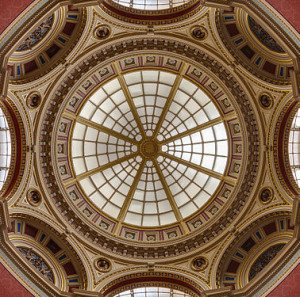 Dome of the Romm Nr. 36, National Gallery, London, England.