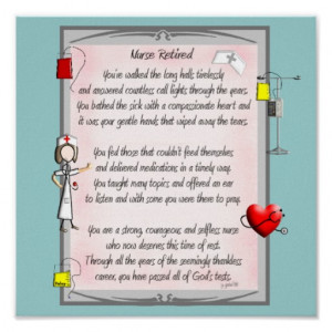 Retirement Wishes For Nurse