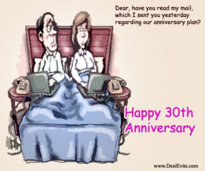 ... love can be expressed by a gadget to surprise. Happy 30th #Anniversary