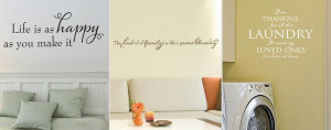 Huge Removable Wall Quote Decal Sale!