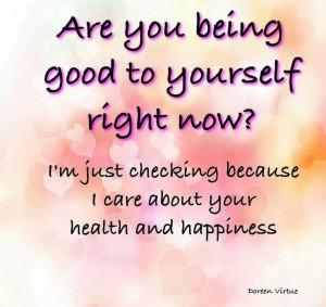 because I care....