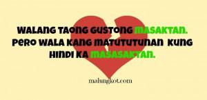 Best Sad English Quotes -Tagalog Break Up Quotes