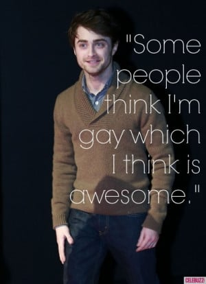 Daniel Radcliffe's Funniest Quotes