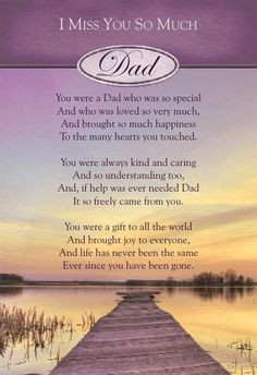 22 one year since you left...I Miss You Dad Heaven Poem | Graveside ...