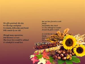 Meaning Thanksgiving Prayer
