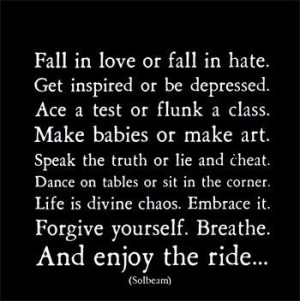 Fall in love or Fall in Hate --- Which is better??