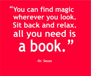 Dr Seuss Quotes Reading