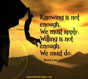 Bruce Lee Facebook Quote