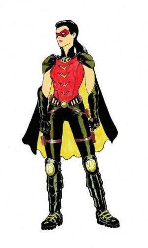 Helena Wayne Robin