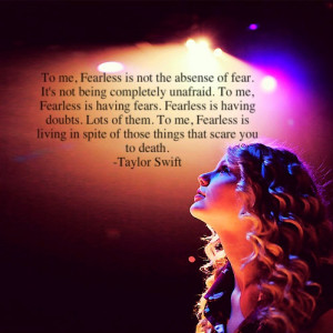 about being fearless tumblr quotes about being fearless tumblr it ...