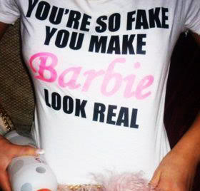 Fake Girls Quotes & Sayings