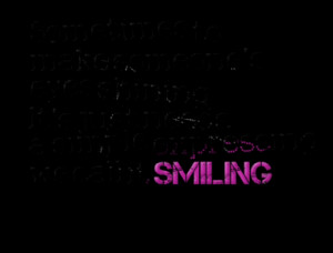 ... Shining It's Just Needs A Simple Expressing We Call It Smiling