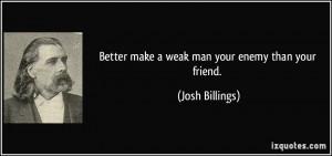 Josh Billings Quote