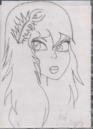 Hera Goddess Drawing