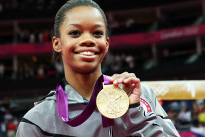 American Gabby Douglas Wins Gold in Women's Gymnastics All-Around