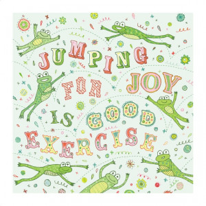 Jumping For Joy Is Good Exercise - Joy Quotes