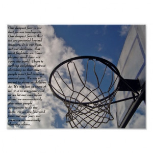 Coach Carter Fear Quote3 Print