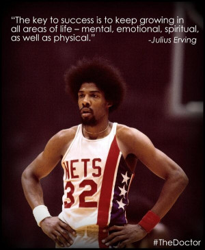 Dr. J Quote