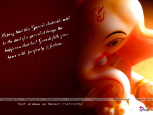 Best wishes on Ganesh Chatrurthi 2011 Greetings 3D