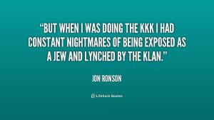 Quotes About Blacks Kkk