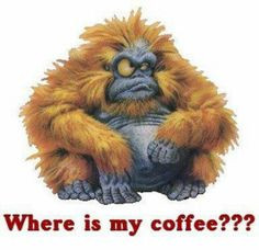 monday morning monkey more ears mornings quotes cups of coffe hands ...