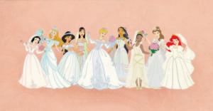 Disney Princess disney wedding dresses
