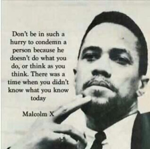 In Hindsight #Malcolm X