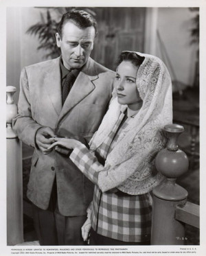 John Wayne and Laraine Day - TycoonJohn Wayne, Um John
