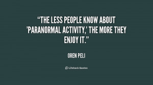 The less people know about 'Paranormal Activity,' the more they enjoy ...