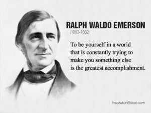 Ralph Waldo Emerson Self Quotes