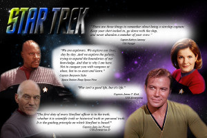 Star Trek Captain Quotes by RjuujinAaittaKage