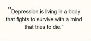 Depression Described Perfectly
