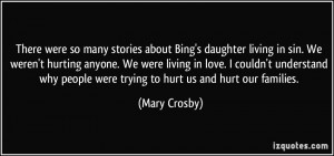 More Mary Crosby Quotes